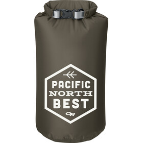 Outdoor Research Graphic Dry Sack PNW Badge 10l Fatigue